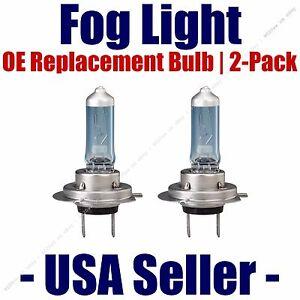 Fog Light Bulbs Upgrade 2-Pack fits Listed Mercedes-Benz Vehicles H755 CVSU2