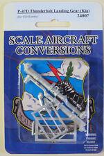 P-47D Thunderbolt Landing Gear for 1/24th Scale Kinetic Model SAC 24007