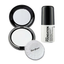 Stargazer - White Pressed Powder Compact + White Liquid Foundation Halloween
