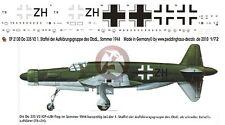 Peddinghaus 1/72 Dornier Do 335 V3 Pfeil Prototype Markings August 1944 2130