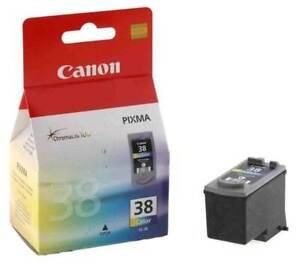 Genuine Canon CL-38 CL38 tricolour inkjet cartridge