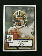 DREW BREES TOPPS HERITAGE 2006 NEW ORLEANS SAINTS FOOTBALL CARD