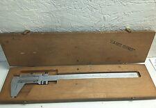 "Scherr Tumico Model 16 0185 Vernier Caliper Range: 0-12"""