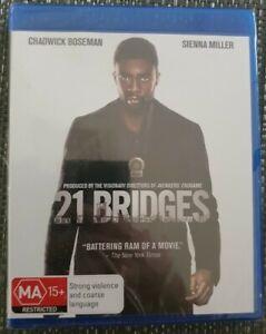 21 BRIDGES BLU-RAY BRAND NEW SEALED