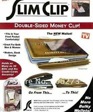 SLIM CLIP Money Clip Double Sided As Seen on TV wallet