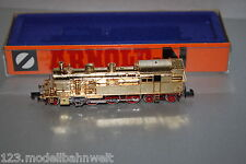 Arnold 2704 Dampflok Baureihe 78 Standmodell vergoldet Spur N OVP