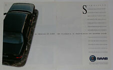 Advert Pubblicità 1991 SAAB 9000 CD