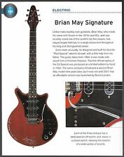 1964 Brian May Signature Red Special & Martin Backpacker guitar 6 x 8 article