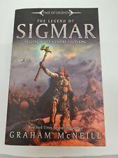 The Legend of Sigmar Graham McNeill. Games Workshop. Warhammer. Rare