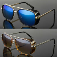New Iron Man Sunglasses Color Lens Robert Downey Tony Stark Personalized Glasses