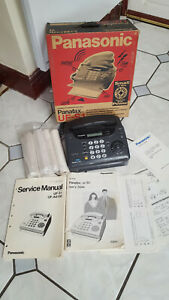 Panasonic Vintage Facsimile Panafax. Fax, Telephone Copier & Answer Machine