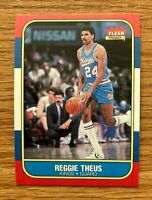 REGGIE THEUS 1986 Fleer #108 - see shipping discount