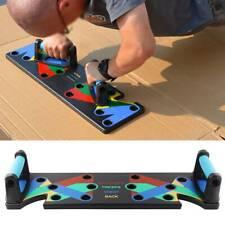 Multifunktionale Push Up Board Liegestützgriffe Training Gym Körperkraft System