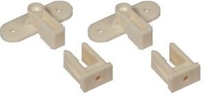 Dummy Draw Drawer Front Fixing Connector, Permafix Block 2pk