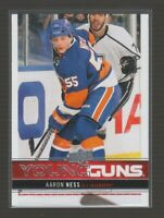 (72465) 2012-13 UPPER DECK YOUNG GUNS AARON NESS #234 RC