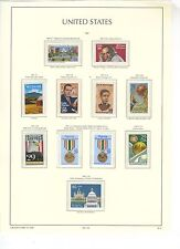 U.S. 1991 Commemorative Year Set COMPLETE,  57 Stamps (4 scans), mNH Fine