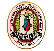 "BIER Pin / Pins - ST. PAULI BRAUEREI ""ST. PAULI GIRL"" [3018]"