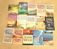 ❤15 Susan Wiggs Romance Calhoun Lakeshore Chronicles Paperback Audiobook Lot❤