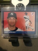 GARY SANCHEZ 2020 TOPPS ARCHIVES 1955 PURPLE PARALLEL #112/175 YANKEES #21