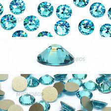 720 Swarovski 2088 16ss crystal flatback rhinestones ss16 LIGHT TURQUOISE (263)