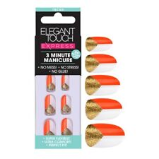 Elegant Touch Express Nails DRAMA 3 Minute Manicure Trend NEW