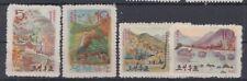 KOREA STAMPS 1963 MOUNTAINS NATURE MNH POST Mi 490 / 493