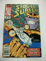 Silver Surfer, #34, FN- 5.5, Signed by Ron Lim; Thanos, Infinity War