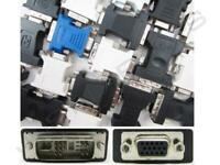 Nuevo Dvi-A VGA DE-15 Adaptador Hembra Lenovo Recambio Para 51J0454