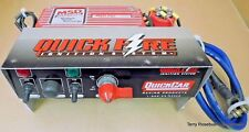 Quickcar Racing Ignition Panel w/MSD 6420 6AL Box, On/Off, Starter Sol,
