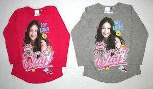 Disney Soy Luna Mädchen Kinder Langarmshirt Gr.110-152 Shirt langarm Pulli  neu