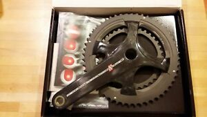 Campagnolo Super Record Bicycle Crankset 175mm 52/36t Ultra Torque Road Crank