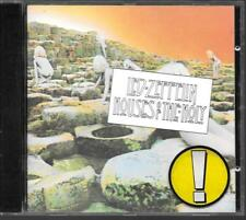 "CD ALBUM 8 TITRES--LED ZEPPELIN--HOUSES OF THE HOLY--1973 ""GERMAN PRESS"""