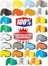 Ergoflash//Clear Lens//One Size 100/% Racecraft Adult Off-Road Motorcycle Goggles