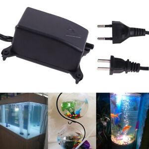 Ultra Low Noise Aquarium Air Pump Fish Tank Mini Air Compressor Oxygen PumpB.bu