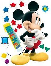 Wandsticker Wandaufkleber Micky Maus Sterne Stars Mickey Mouse Disney lachend