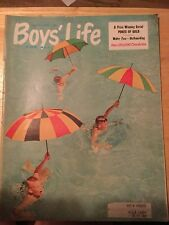 Boys Life Magazine August 1958-Pepsi Cola Ad