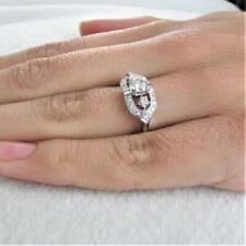 2.00Ct Gorgeous Cz Cluster Fine Round Cut Women's Wedding Anniversary Ring