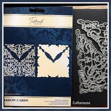 Exclusive Tattered Lace Arrow Cards Die