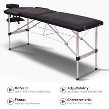 """cama para masajes portatil de 73"""" mesa camilla silla spa faciales pies piernas"""