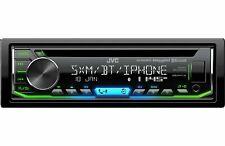 NEW JVC KD-R990BTS 1 DIN AM/FM CD Receiver Bluetooth SiriusXM Ready Change Color