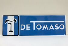 De Tomaso Vintage Reproduction Sign Garage