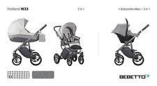 Bebetto Holland wózek wielofunkcyjny 3w1 gondola spacerówka fotelik samochodowy