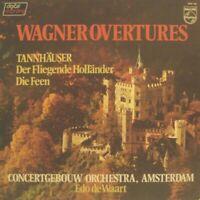 Wagner, Edo de Waart, Concertgebouw Orchestra Amsterdam –  Overtures - LP - NM