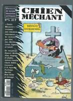 REVUE CHIEN MÉCHANT N°5 . 1996 . SINÉ / TIGNOUS / CHARB / FAJARDIE / HONORÉ .