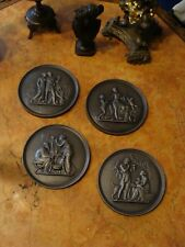 Vier Relief Thorvaldsen 1836 Klassizismus Plakette Gusseisen Historismus Buderus