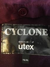 Cyclone Division de / of Utex TG/XL liner blue coat front zipper