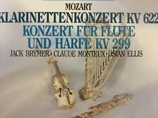 """CD """"Mozart : Klarinettenkonzert & Konzert für Flöte & Harfe"""" Academy LSO Davis"""