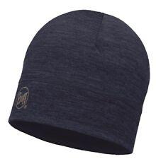 Buff Merino Wool Hat - solid denim