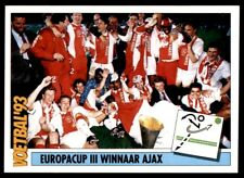 246 Panini Voetbal/'93 Países Bajos equipo Fortuna Sittard equipos no