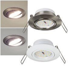LED Decken-Einbau-Leuchte DIMMBAR schwenkbar EEK:A+ 230V 5W Einbau-Strahler Spot